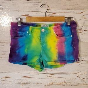 Aeropostale tye-dye shorts